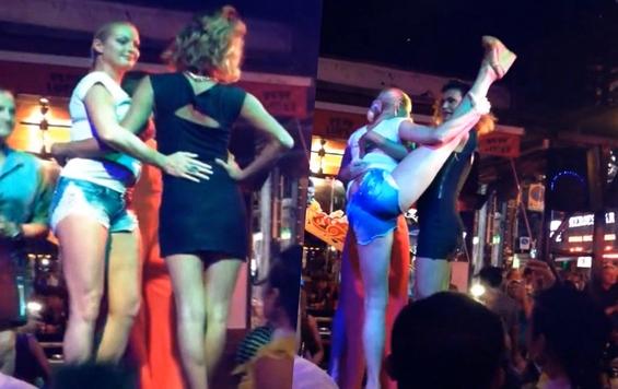 Скандал: танец Волочковой с трансвеститом шокировал сеть (ФОТО)
