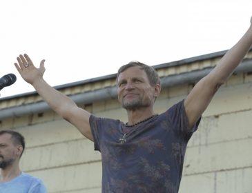 Олег Скрипка даст три концерта в Донбассе (ФОТО)