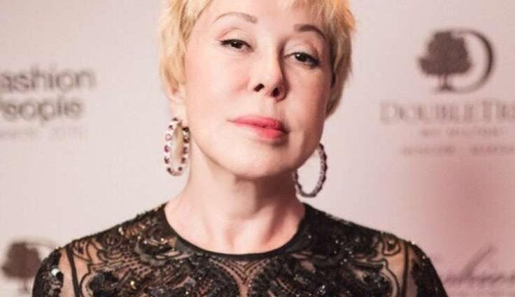 62-летняя Любовь Успенская в прозрачном платье (ФОТО)