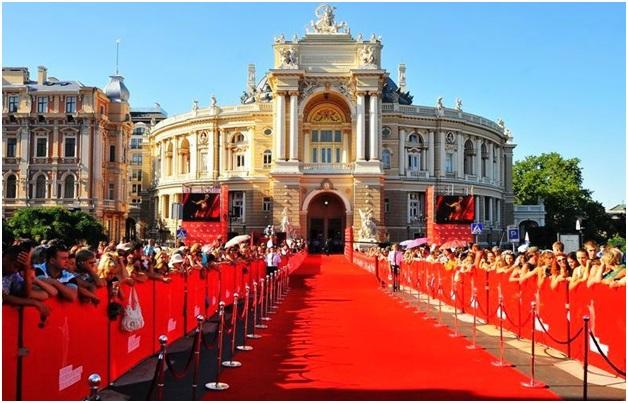 В Одессе стартовал VII международный кинофестиваль (фото)