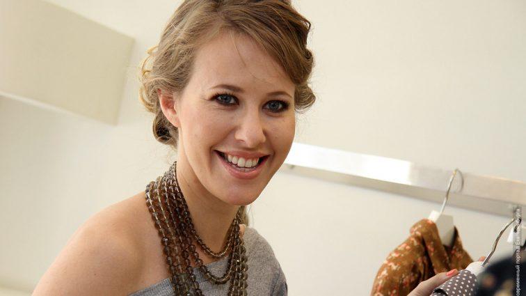 Беременная Ксения Собчак устроила прогулку на велосипеде по Москве (ФОТО)