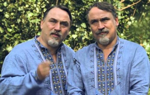 День независимости Украины: братья Капрановы закатили скандал из-за российской музыки на Майдане (фото)