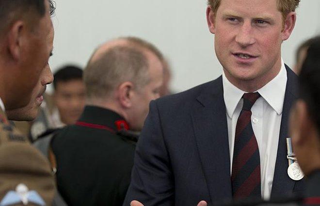 Принц Гарри бросил вызов 11-кратному олимпийскому чемпиону Усэйну Болту (фото)