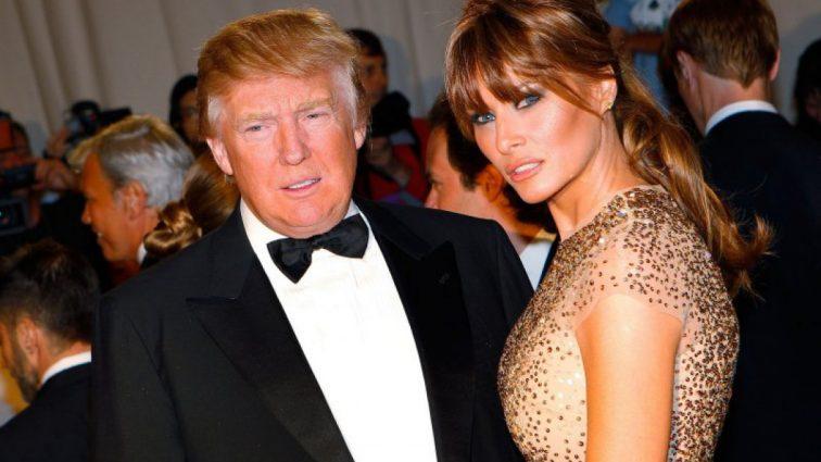 Американские СМИ тиражируют фото обнаженной жены Трампа (ФОТО)