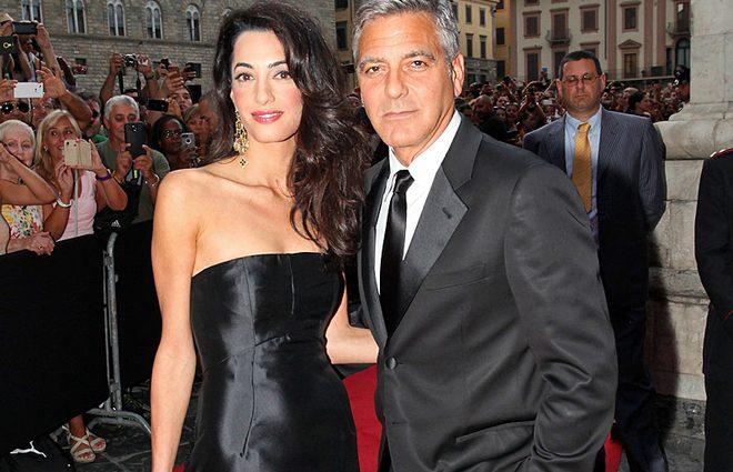 Джордж Клуни признался, что боится за свою жену Амаль (фото)