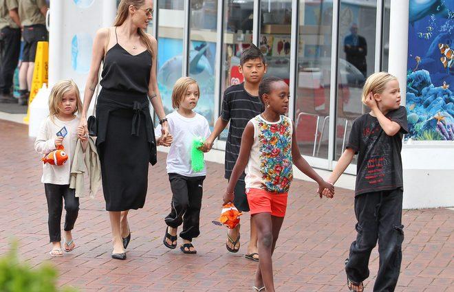 Анджелина Джоли сняла особняк в Малибу для себя и детей до развода с Питтом (фото)