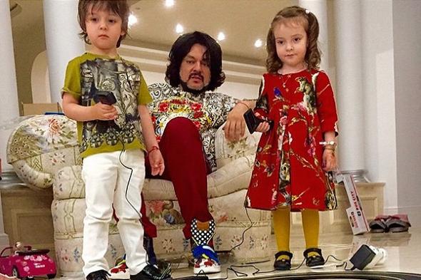 Сын Киркорова стал моделью (фото)