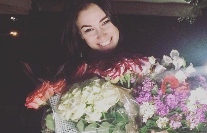 Анастасия Приходько отметила кожаную свадьбу (фото)