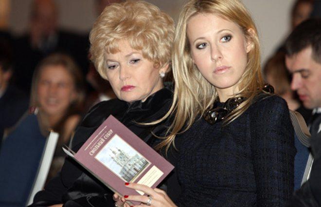 Мама Ксении Собчак о беременности дочери: «Мне бы хотелось двойню» (фото)