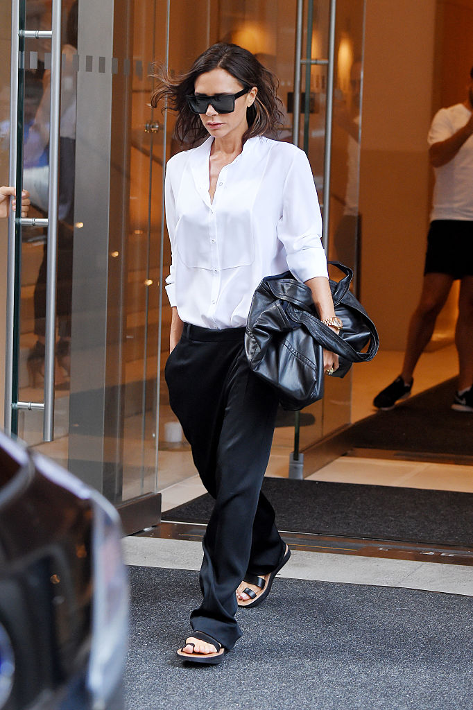 NEW YORK, NY - SEPTEMBER 07: Victoria Beckham seen out in Manhattan on September 07, 2016 in New York, NY. (Photo by Josiah Kamau/BuzzFoto via Getty Images)
