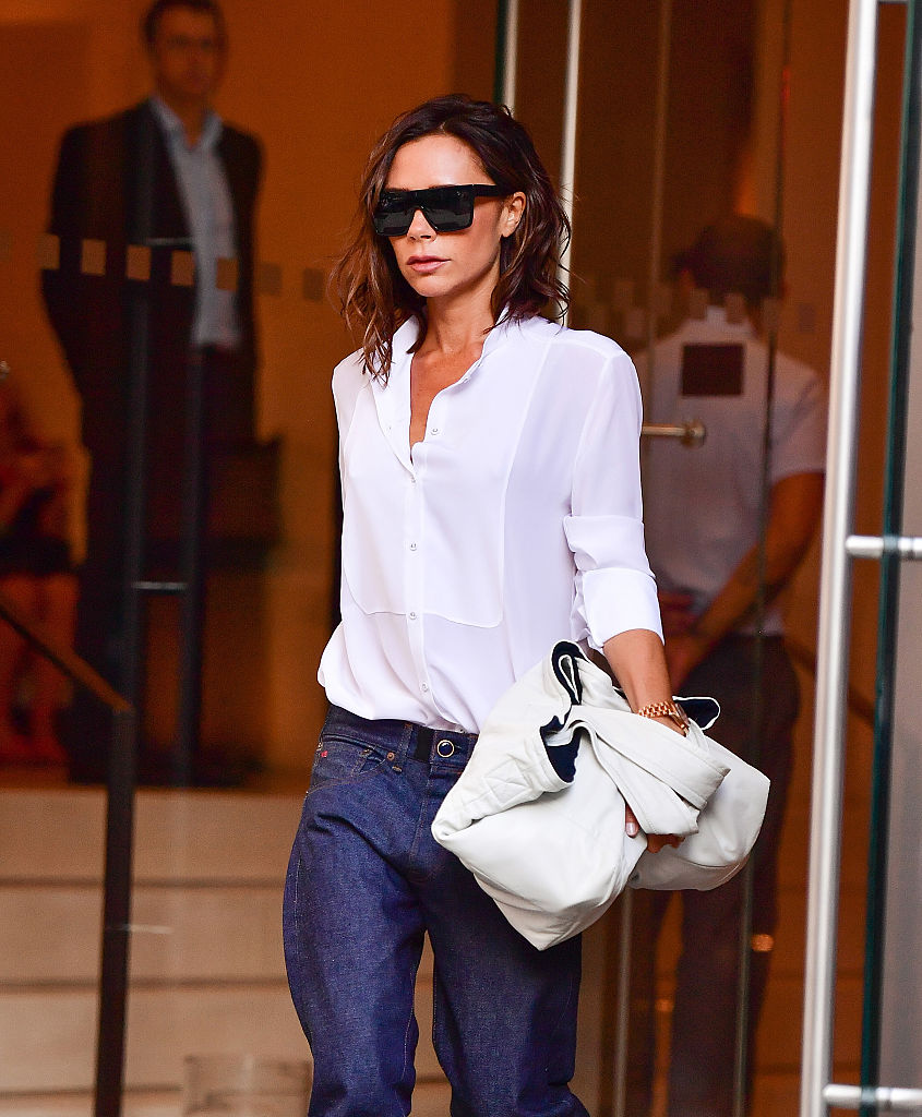 NEW YORK, NY - SEPTEMBER 09:  Victoria Beckham seen on the streets of Manhattan on September 9, 2016 in New York City.  (Photo by James Devaney/GC Images)