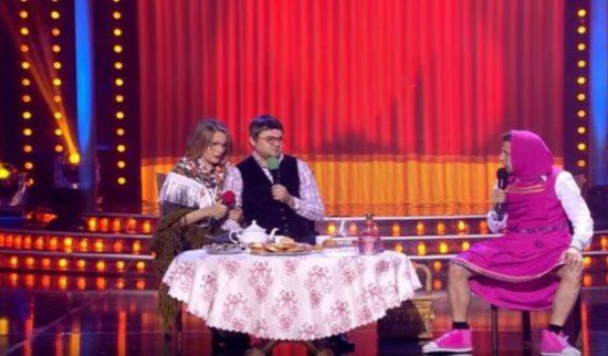Владимир Зеленский разорвал публику взрослой версией «Маши и медведя» (ВИДЕО)