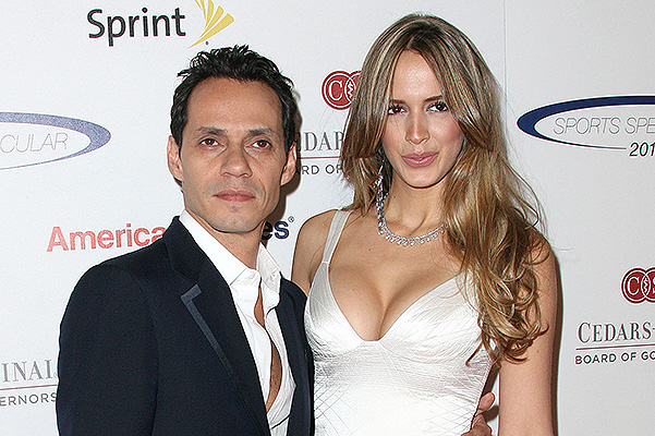 CENTURY CITY, CA - MAY 20: Recording artist Marc Anthony (L) and Shannon De Lima attend the 27th Annual Cedars-Sinai Medical Center Sports Spectacular at the Hyatt Regency Century Plaza hotel on May 20, 2012 in Century City, California.  (Photo by Frederick M. Brown/Getty Images)