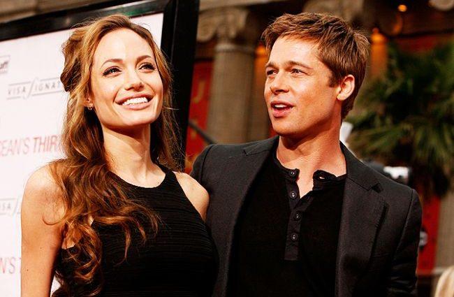 О разводе Джоли и Питта в Голливуде снимут фильм