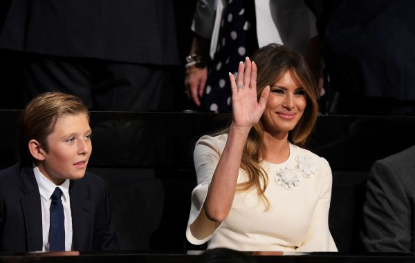 Горе в семье: 10-летний сын Дональда Трампа серьезно болен