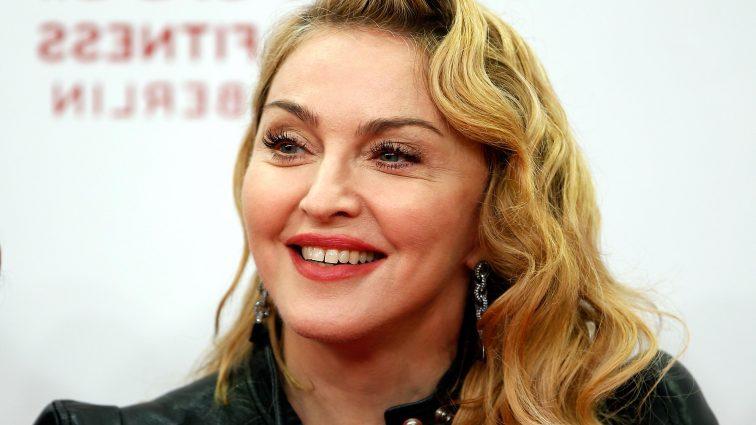 Мадонна шокировала очередной выходкой