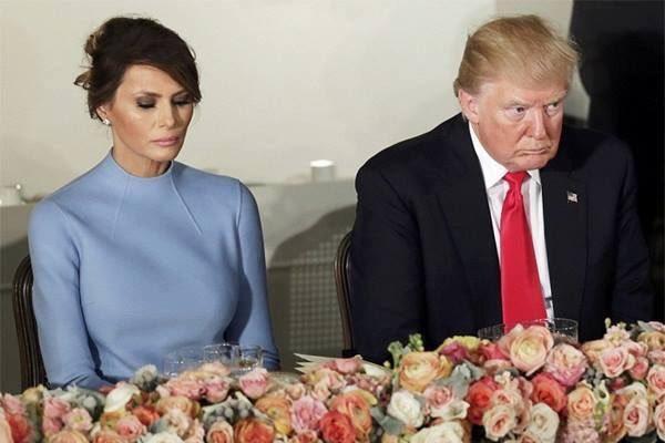 «Освободите грустную Меланию»: печальная супруга президента США Трампа стала интернет-мемом (ФОТО)