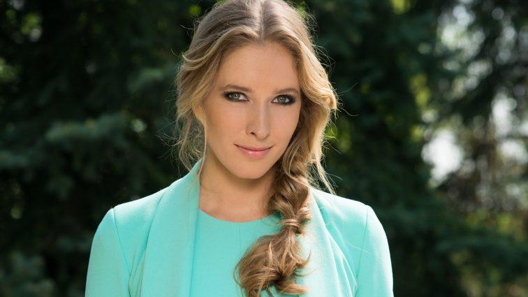 Как большая голубая зефирка: беременная Катя Осадчая прокомментировала свою фигуру (ФОТО)
