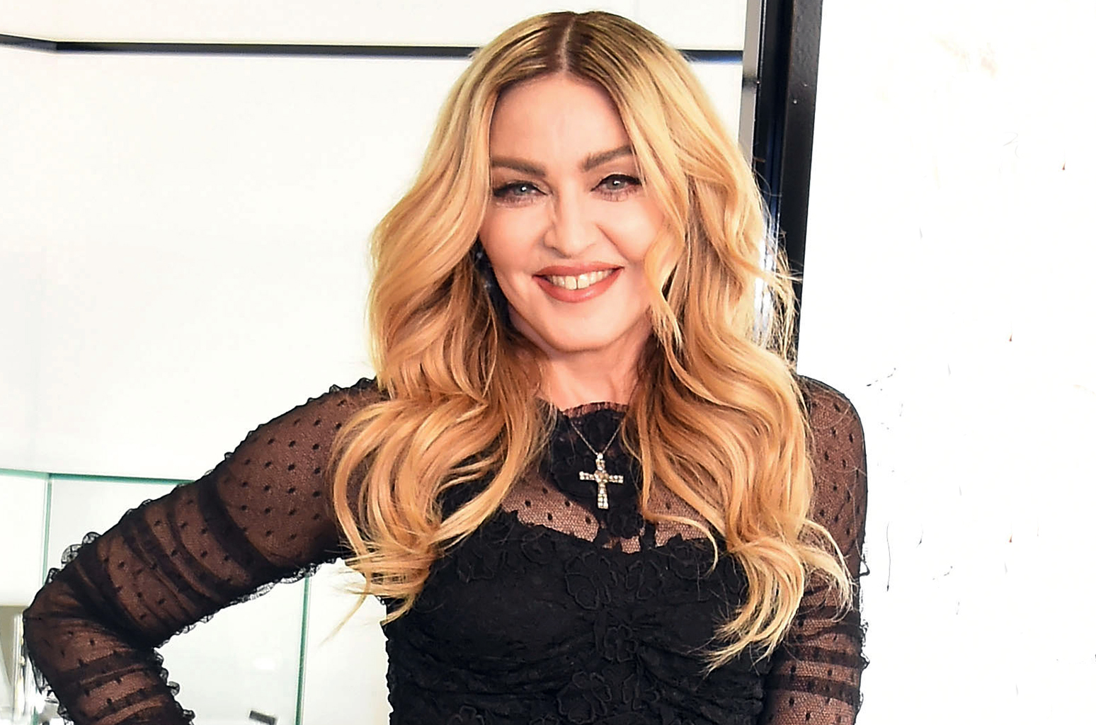 """TOKYO, JAPAN - FEBRUARY 15:  Madonna attends the promotional event for """"MDNA SKIN"""" on February 15, 2016 in Tokyo, Japan.  (Photo by Jun Sato/WireImage)"""