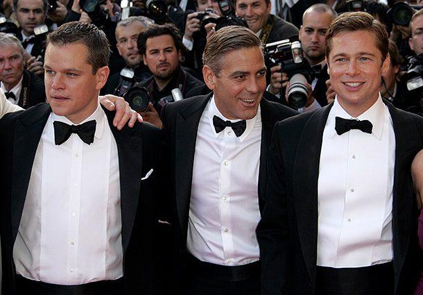 Мэтт Деймон рассказал, как уговаривал Джорджа Клуни никому не рассказывать о беременности жены