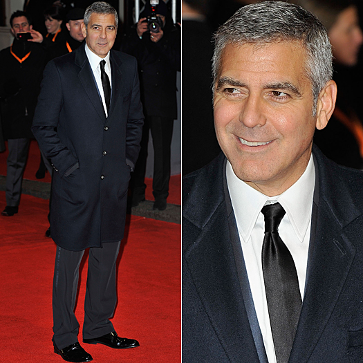 LONDON, ENGLAND - FEBRUARY 12:  Actor George Clooney attends the Orange British Academy Film Awards 2012 at the Royal Opera House on February 12, 2012 in London, England.  (Photo by Gareth Cattermole/Getty Images)