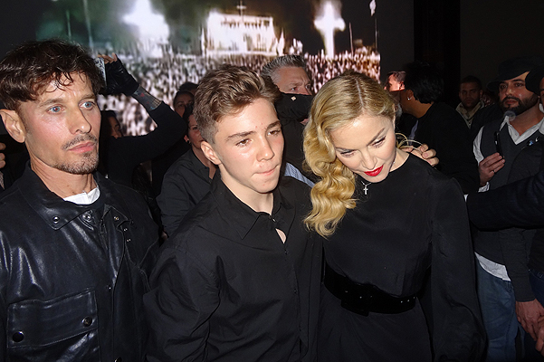 On September 24, Madonna invaded the Gagosian Gallery in NYC to debut her 17-minute short film