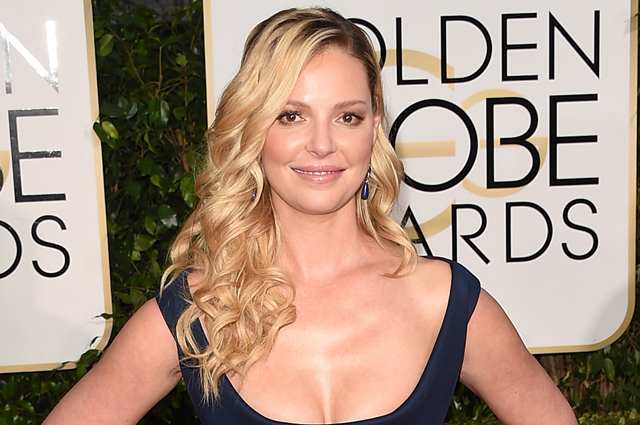 BEVERLY HILLS, CA - JANUARY 11:  Actress Katherine Heigl attends the 72nd Annual Golden Globe Awards at The Beverly Hilton Hotel on January 11, 2015 in Beverly Hills, California.  (Photo by Jason Merritt/Getty Images)