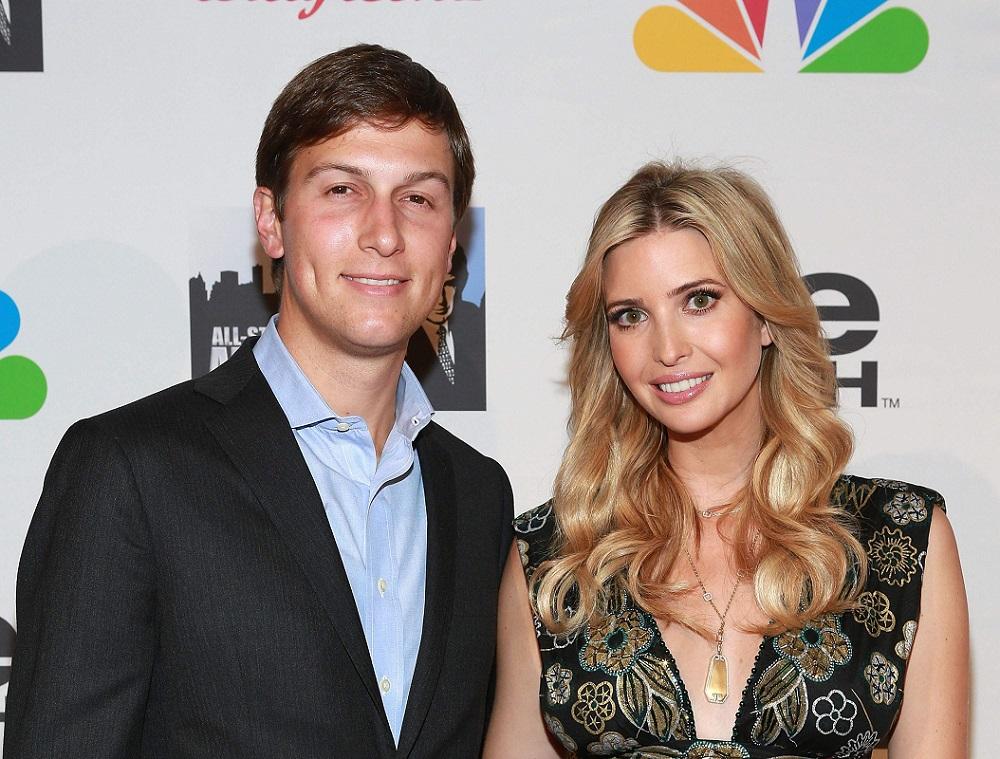 Иванка Трамп и её муж Джаред Кушнер фото (1)