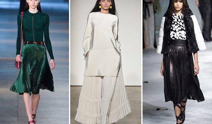 Модные тренды 2017 года: юбки