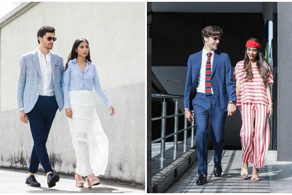 Любовь и мода: 7 образов от пары фэшн-блогеров (фото)