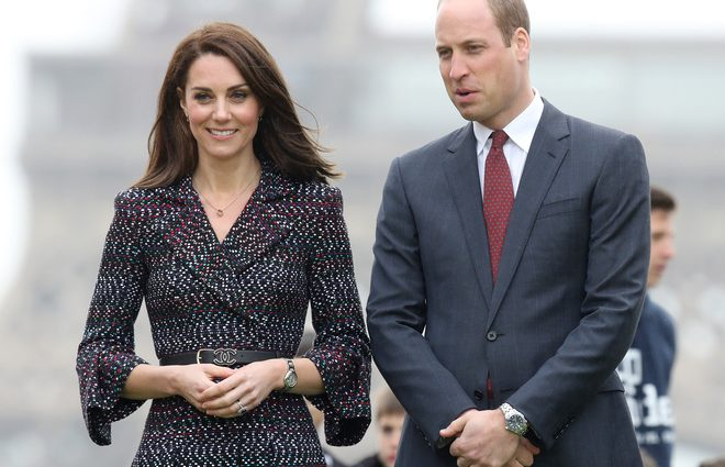 Словно ничего не случилось: Принц Уильям снова со своей женой?