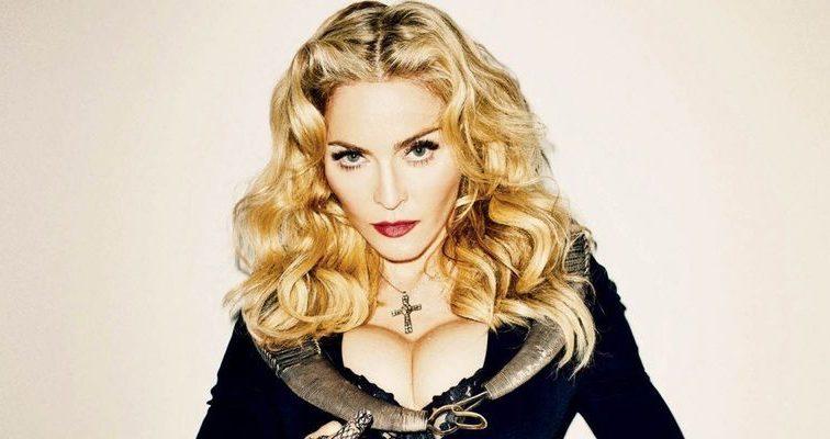 ЭТО ПРОСТО УЖАС! Мадонна решила добавить немного золота в свой.. (ФОТО)
