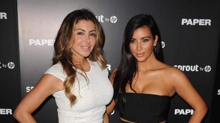 Вот так подруга..: Лучшая подруга Ким Кардашьян затмила ее в очень откровенном бикини (ФОТО)