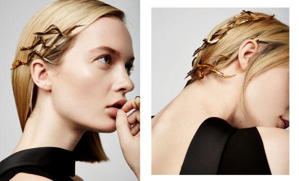Золото в волосах: новая коллекция украшений Adir x Lelet NY