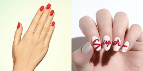 Любите КРАСНЫЙ? Специально для ВАС! 10 трендовых идей для ваших ногтей