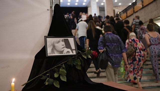В Москве проходит церемония прощания с актрисой Верой Глаголевой (ВИДЕО)