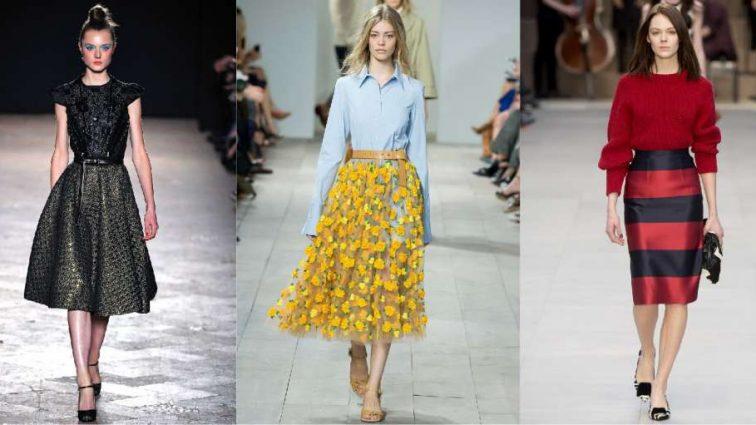 Модные юбки осени-2017: настоящая роскошь