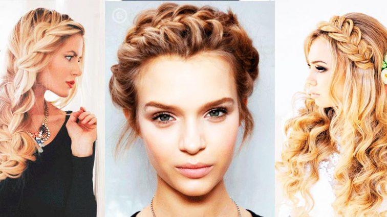 Модные прически с косами 2017: лучшие варианты на каждый день