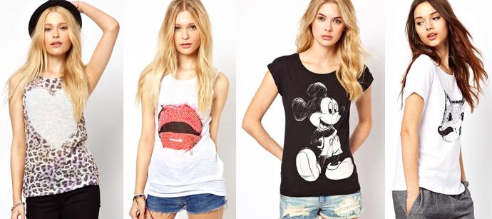 5 модних способів носити футболку