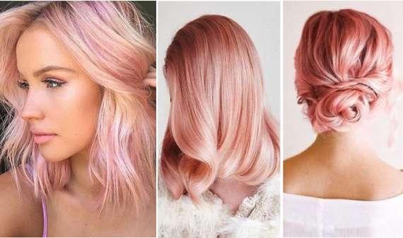 Розовый кварц: новый тренд в окрашивании волос на осень 2017