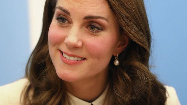 Беременная Кейт Миддлтон, на днях посетила детский центр