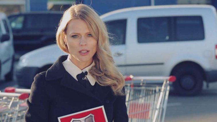 Ольга Фреймут снова похвасталась роскошным брендовым платьем