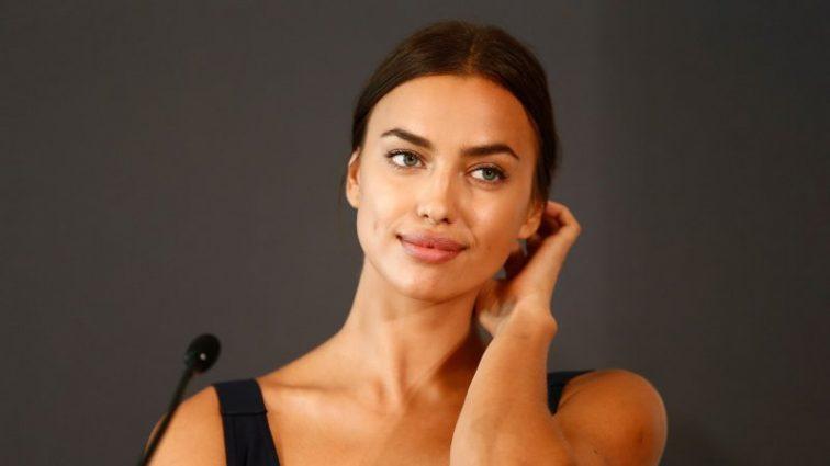 Ирина Шейк поразила аппетитными формами в сексуальном платье