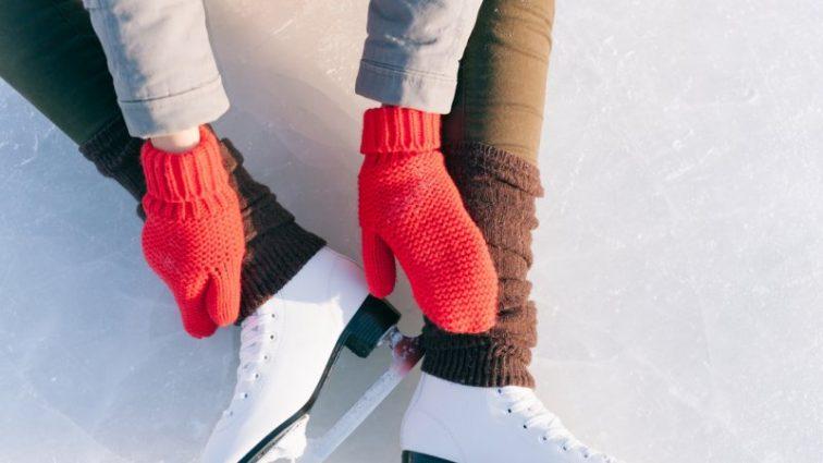 Идеи нарядов для катания на коньках