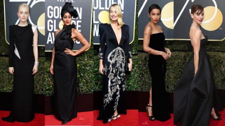 Назвали лучшее платье с церемонии «Золотой глобус 2018»