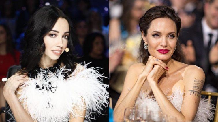 Кто лучше? Екатерина Кухар и Анджелина Джоли в роскошных белых платьях