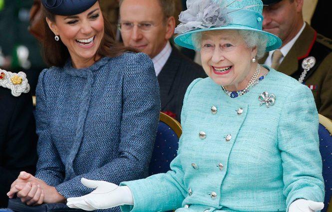 Королевская свадьба: внучка Елизаветы II выходит замуж, фото счастливой пары