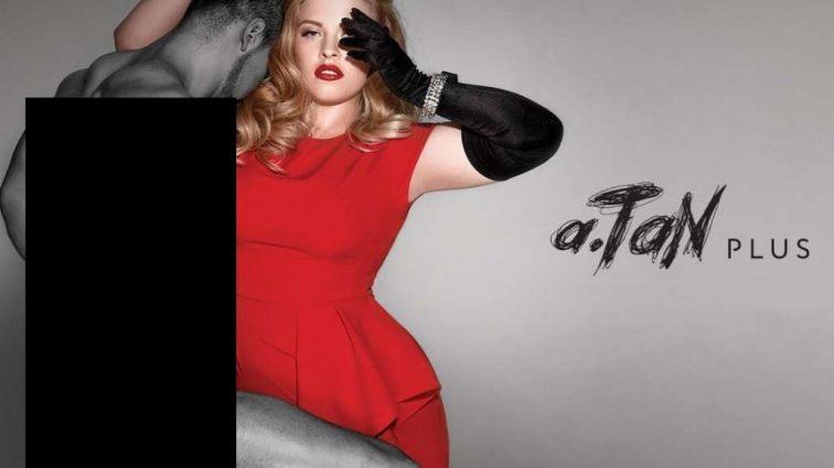 «Не пышная, а роскошная»: Победительница «Модель XL» Мария Павлюк снялась в откровенной фотосессии для коллекции Андре Тана