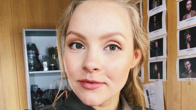 Беременная Алена Шоптенко похвасталась своим округлившимся животом