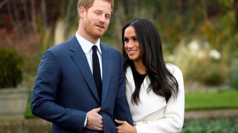 Принц Гарри и Меган снова появились на публике. Посмотрите, что надела Маркл на праздник